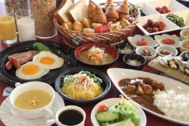 【WEB限定】 お勧め!奄美鶏飯♪郷土料理が愉しめる約30種類の朝食付バイキングプラン♪