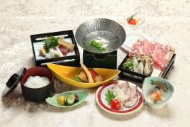 【鹿児島グルメ】 一人黒豚しゃぶ鍋♪名物の黒豚料理を 料理長お奨めの  食べ方でどうぞ★