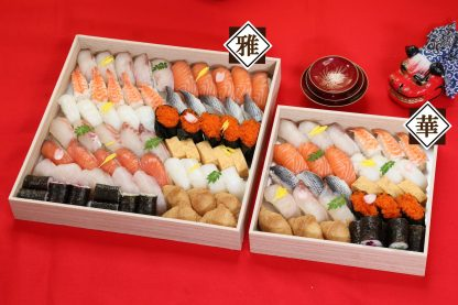 寿司10種盛り